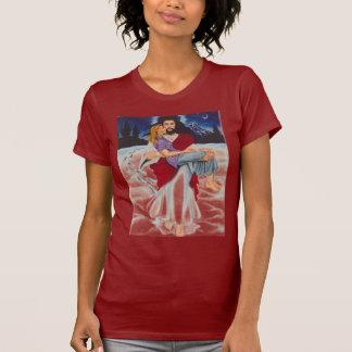 jesusfootsnowprints T-Shirt