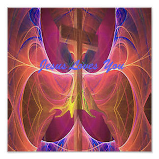 JesusIsAwsome, Jesus Loves You Print
