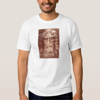Jesus's Face Close up on the Shroud of Turin Shirt