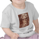 Jesus's Face Close up on the Shroud of Turin T Shirt