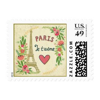je't aime,paris,vintage,eiffeltower,heart,flower,r stamps