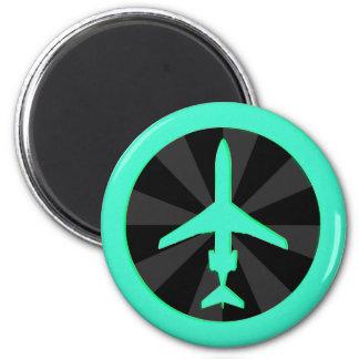 Jet Aircraft Fridge Magnet