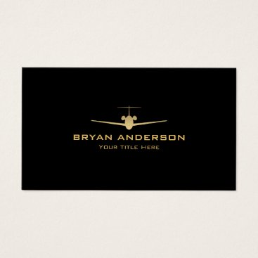 istanbuldesign Jet Airplane Business Card