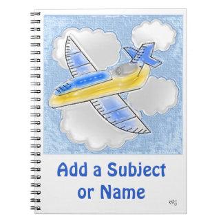 Jet Airplane Notebook