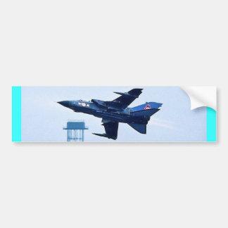 Jet azul BRITÁNICO Pegatina Para Auto
