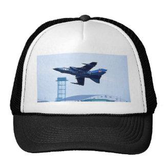 Jet azul BRITÁNICO Gorros Bordados