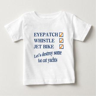 Jet Bike Steve Baby T-Shirt