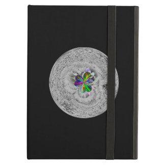 Jet black design iPad air cover