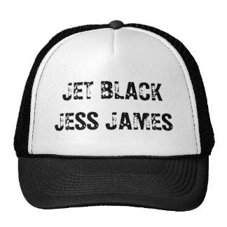 JET BLACK JESS JAMES MESH HAT