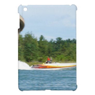 Beach Themed Jet Boats on a run, St Joseph Island iPad Mini Cover