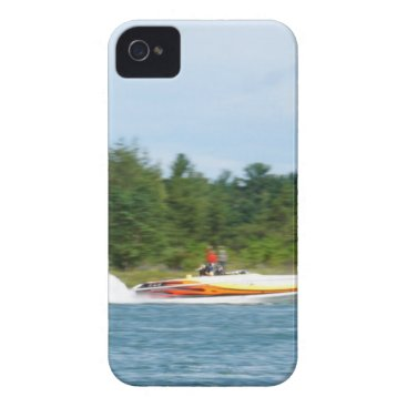 Beach Themed Jet Boats on a run, St Joseph Island iPhone 4 Case-Mate Case