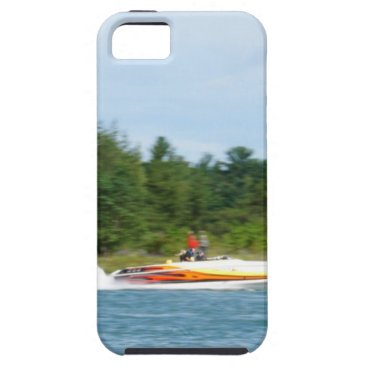 Beach Themed Jet Boats on a run, St Joseph Island iPhone SE/5/5s Case