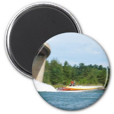 Jet Boats on a run, St Joseph Island Magnet