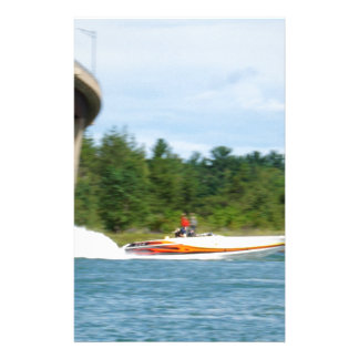 Jet Boats on a run, St Joseph Island Stationery