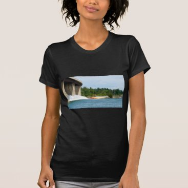 Beach Themed Jet Boats on a run, St Joseph Island T-Shirt