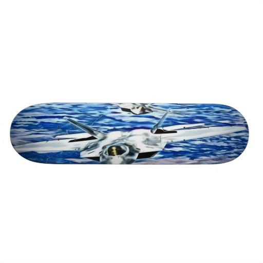 jet custom skateboard