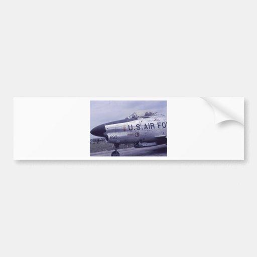 JET DE F-86D SABRE PEGATINA PARA AUTO