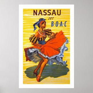 Jet de Nassau Póster