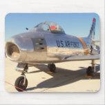 Jet de SABRE - Guerra de Corea Alfombrillas De Ratón