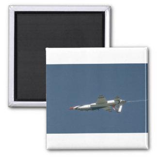 Jet de Thunderbird T-38 upside-down Imán Para Frigorífico