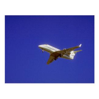 Jet ejecutivo tarjetas postales