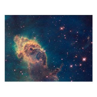 Jet en postal de la nebulosa de Carina