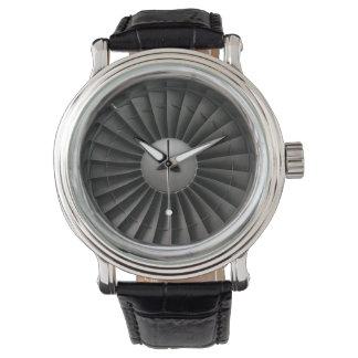 Jet Engine Turbine Fan Watch