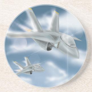 Jet Fighter Aircraft Coaster