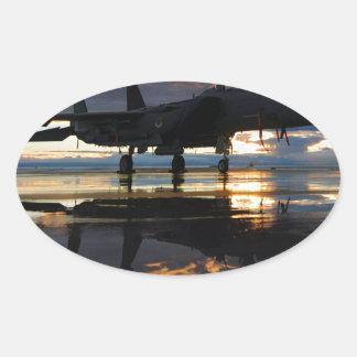 Jet Fighter Aircraft Pilot Wings Destiny Sticker