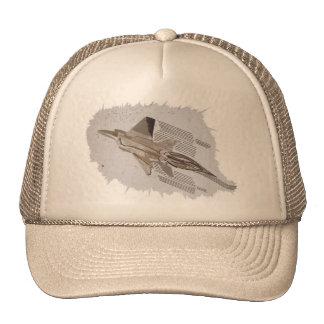 Jet Fighter Brake-Out Khaki Trucker Hat
