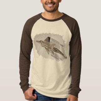 Jet Fighter Brake-Out Mens Basic Long Sleeve T-shirt