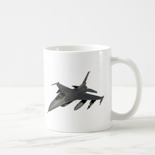 JET FIGHTER COFFEE MUG