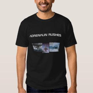 Jet-Fighter, f18hornet, F18-3, ADRENALIN RUSHES Tee Shirt
