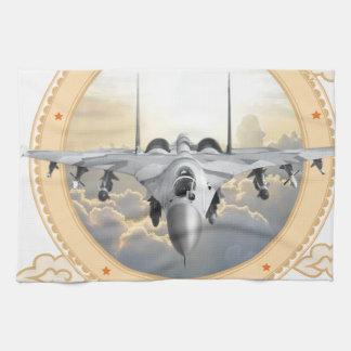 Jet Fighter Kitchen Towels