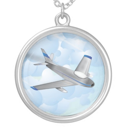 Jet fighter necklaces