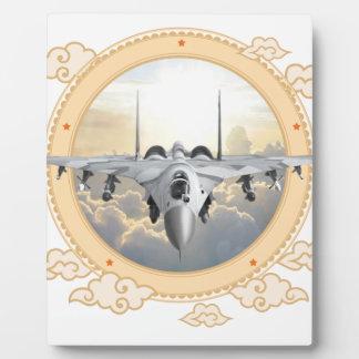 Jet Fighter Plaque