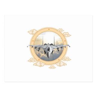 Jet Fighter Postcard