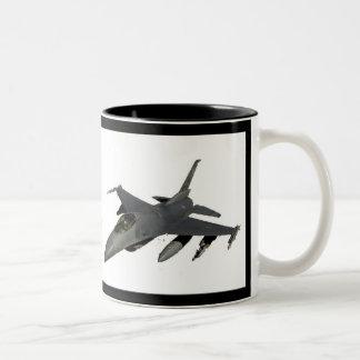 JET FIGHTER Two-Tone COFFEE MUG