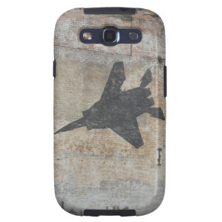 Jet fighter urban graffiti phone case samsung galaxy SIII case