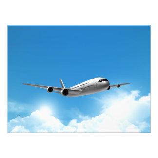 Jet Flying On The Sky Photo Print