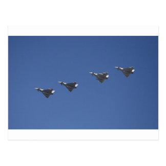 jet formation postcard