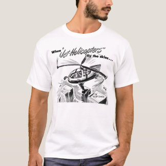 Jet Helicopters Vintage Ad T-Shirt