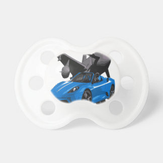 JET HORSE POWER SUPERCAR BABY PACIFIER