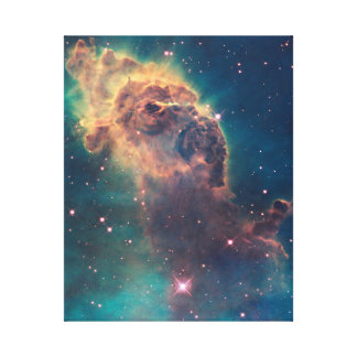 Jet in Carina Stretched Canvas Print
