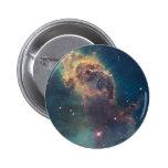 Jet in Carina Nebula 2 Inch Round Button