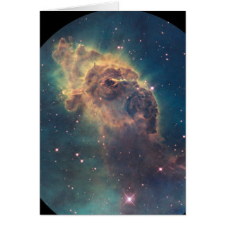 Jet in Carina nebula (NGC 3372) Card