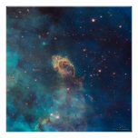 Jet in Carina WFC3 UVIS 24x24 (24x24) Poster