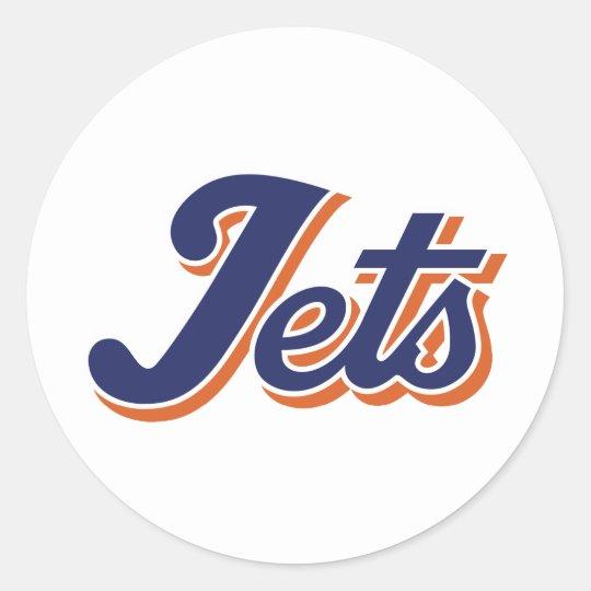 Jet Life Classic Round Sticker