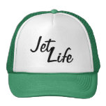 Jet Life Snapback Mesh Hat