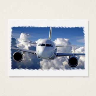 Jet Liner Business Card